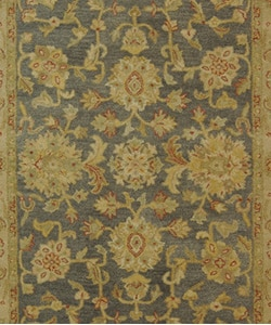 Safavieh Handmade Antiquities Jewel Grey Blue/ Beige Wool Rug (6' x 9')