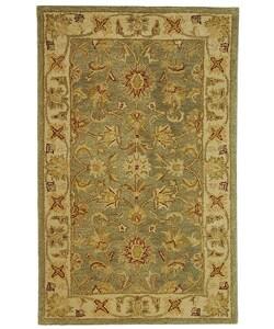 Safavieh Handmade Antiquities Gem Green Wool Rug (3' x 5')