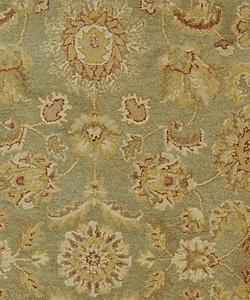 Safavieh Handmade Antiquities Gem Green Wool Rug (5' x 8')