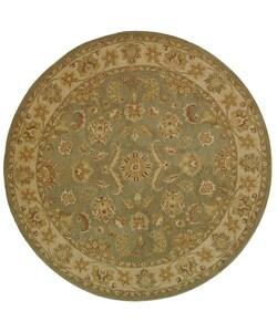 Safavieh Handmade Antiquities Gem Green Wool Rug (8' Round)