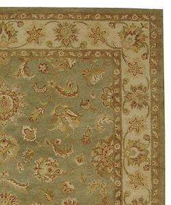 Safavieh Handmade Antiquities Gem Green Wool Rug (9'6 x 13'6)
