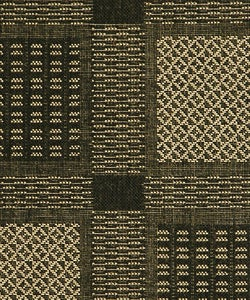 Safavieh Lakeview Black/ Sand Indoor/ Outdoor Rug (2'7 x 5) - Thumbnail 2