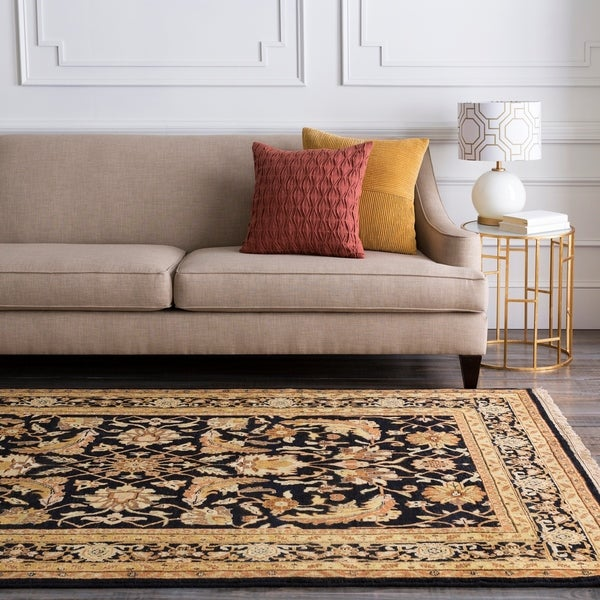 Hand-Knotted Legacy Collection Wool Area Rug - 5'6 x 8'6