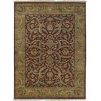 "Hand-knotted Legacy Collection Wool Area Rug - 8'6"" x 11'6"""