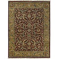 Hand-knotted Legacy Collection Wool Area Rug (8'6 x 11'6') - 8'6 x 11'6