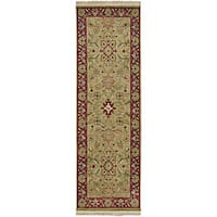 Hand-knotted Babylon Collection Wool Area Rug (2'6 x 8')