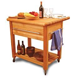 Grand Workcenter Drop Leaf Kitchen Cart