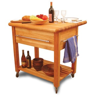 Grand Workcenter Drop Leaf Kitchen Cart