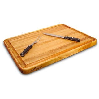 Professional Style Reversible Cutting Board w/ Juice Groove|https://ak1.ostkcdn.com/images/products/2613391/P10819327.jpg?impolicy=medium