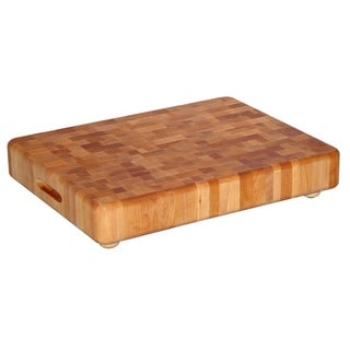 End Grain Chopping Block w/ Feet