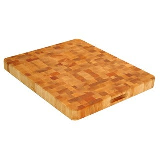 Large End Grain Hardwood Chopping Block