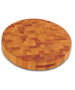 17-inch Round Slab-reversible Cutting Board