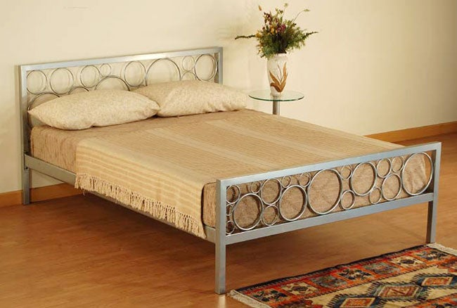 Halo Queen-size Platform Bed - Thumbnail 0