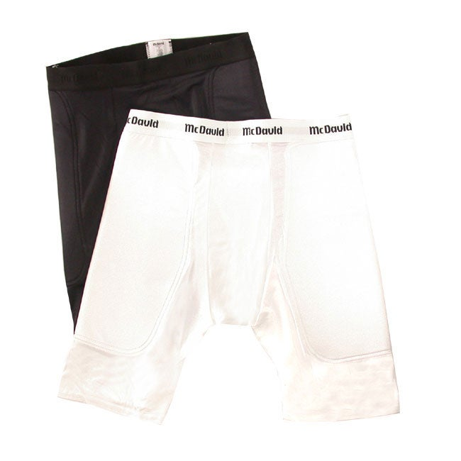 McDavid Nylon/Spandex Cup-pocket Athletic Sliding Shorts (Set of Two)