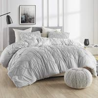 Textured Waves Comforter - Supersoft Glacier Gray