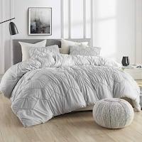 Textured Waves Comforter - Supersoft Glacier Gray