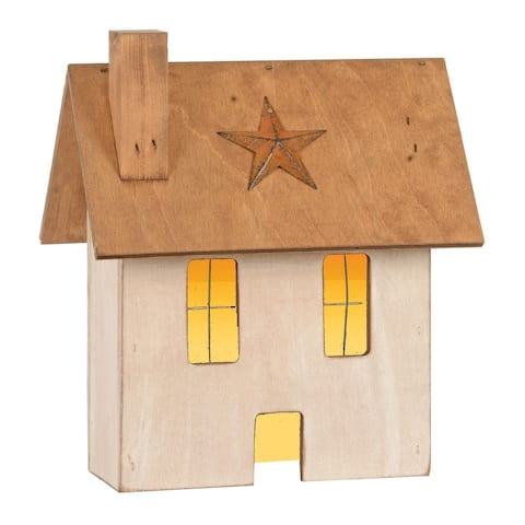 Rustic Decorative Lighted House