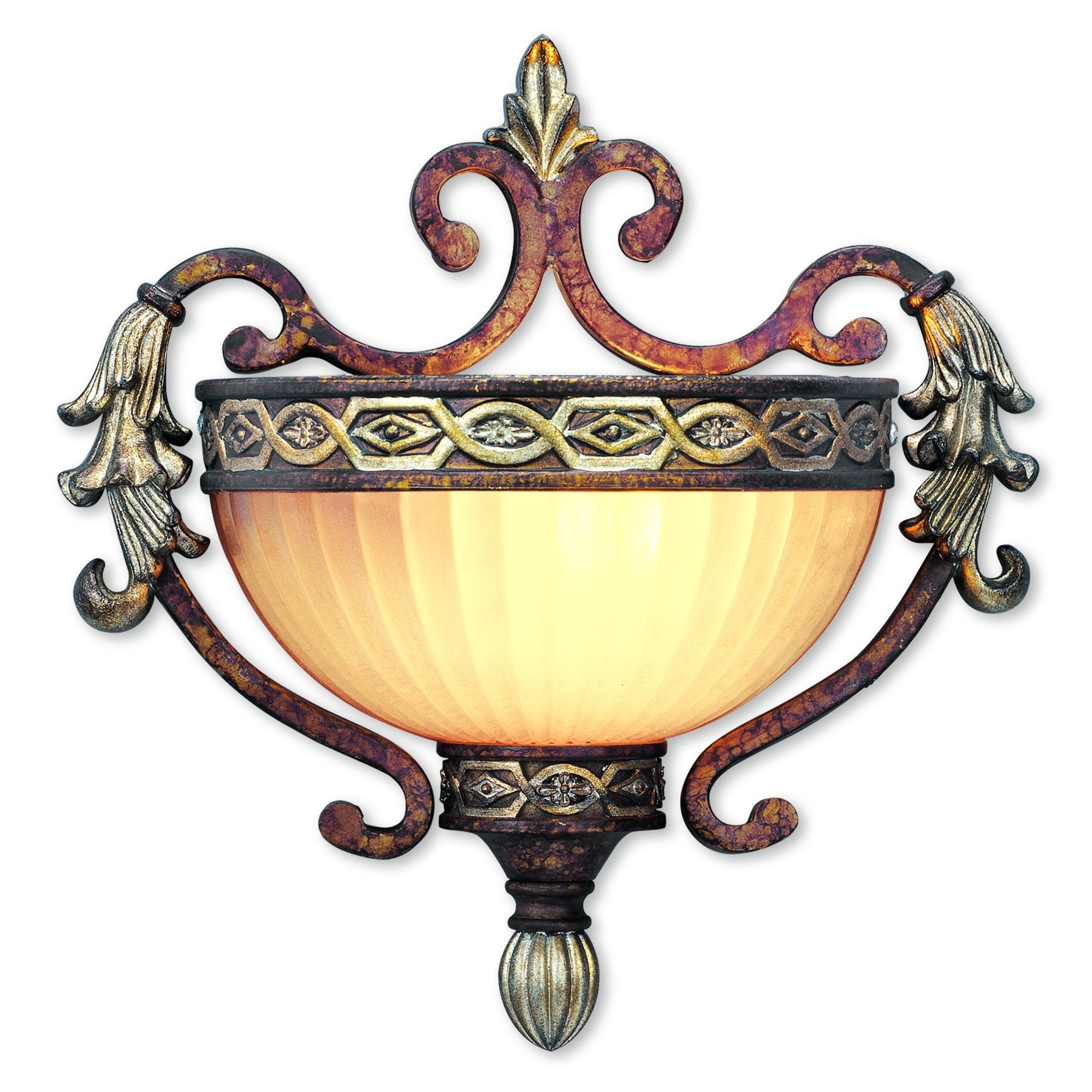 Shop For Livex Lighting Seville 1 Light Palacial Bronze With Gilded Accents Wall Sconce Get Free Delivery On Everything At Overstock Your Online Wall Lighting Store Get 5 In Rewards With Club O 26170069