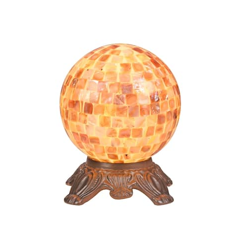 Sea Shell 1-light Dark Bronze Table Lamp