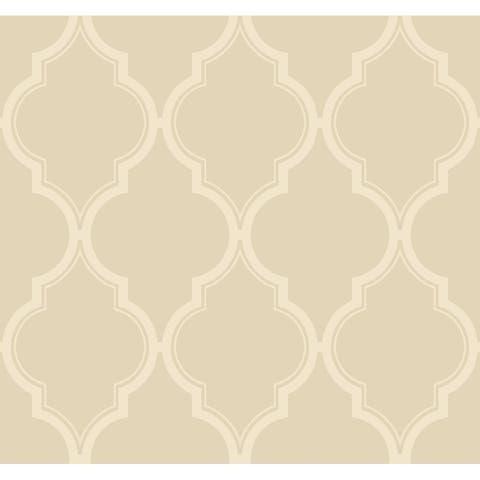 Luxury Trellis Wallpaper, 27 in. x 27 ft. = 60.75 sq.ft.