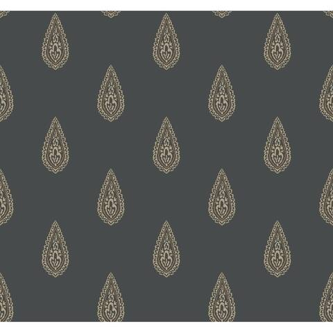 Luxury Paisley Wallpaper, 27 in. x 27 ft. = 60.75 sq.ft.
