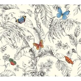 Papillon Wallpaper, 27 in. x 27 ft. = 60.75 sq.ft.