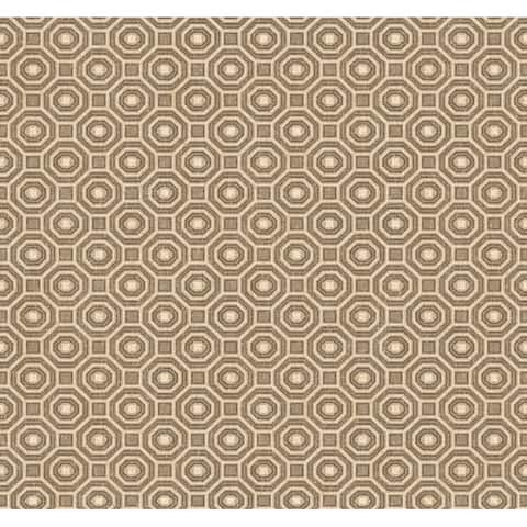 Paragon Geometric Wallpaper, 20.5 in. x 33 ft. = 56 sq. ft