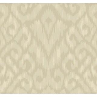 Thompson Ikat Wallpaper, 27 in. x 27 ft. = 60.75 sq.ft.