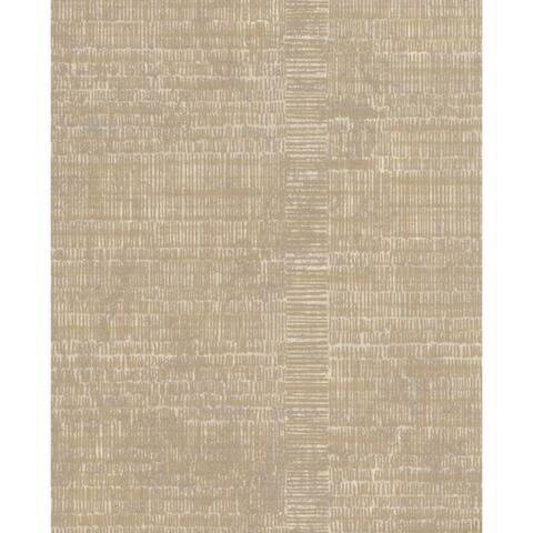 Woven Stripe Wallpaper, 21 in. x 33 ft. = 57.75 sq.ft.