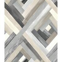Wynwood Geometric Wallpaper, 20.5 in. x 33 ft. = 56 sq ft