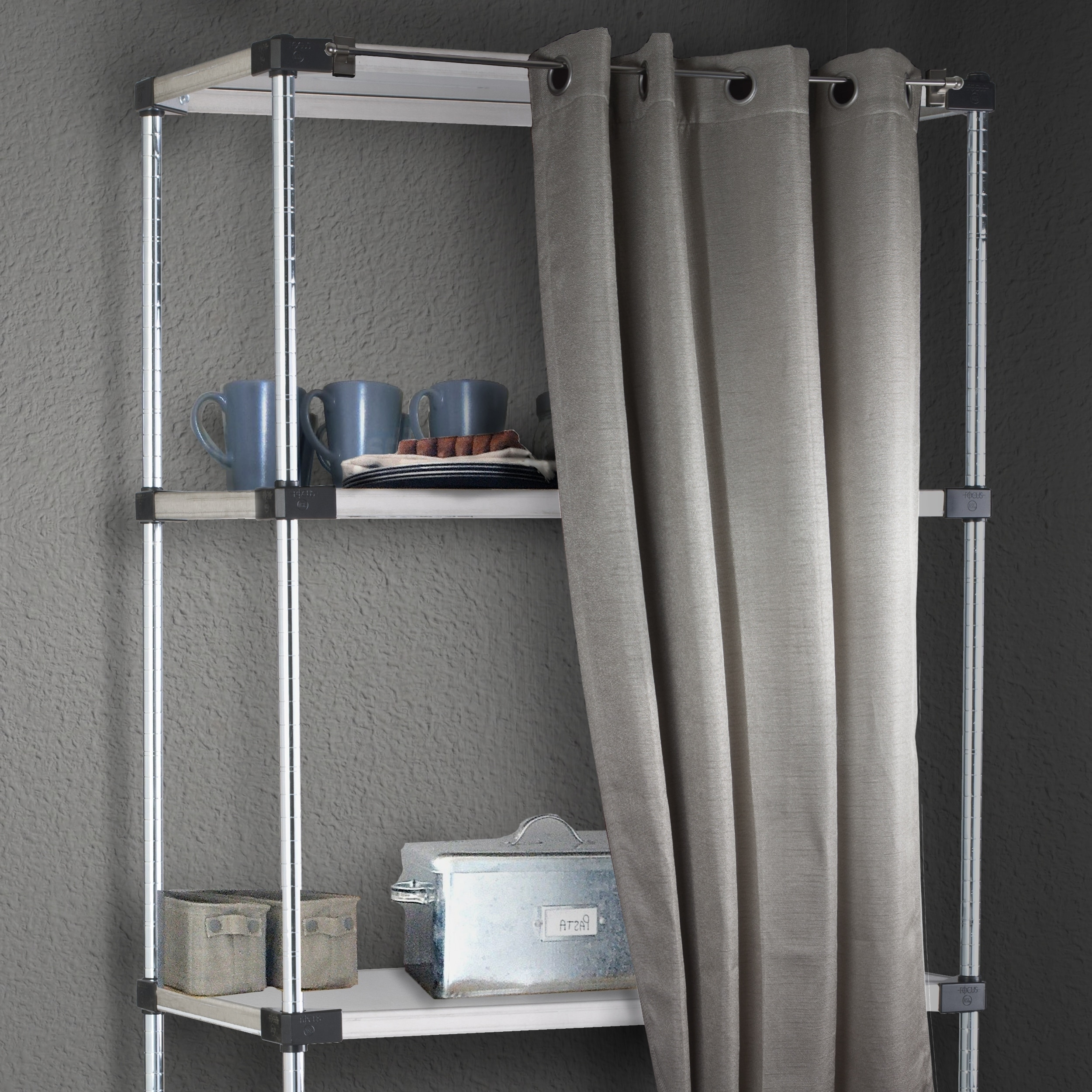 Instyledesign Magnetic Curtain Rod