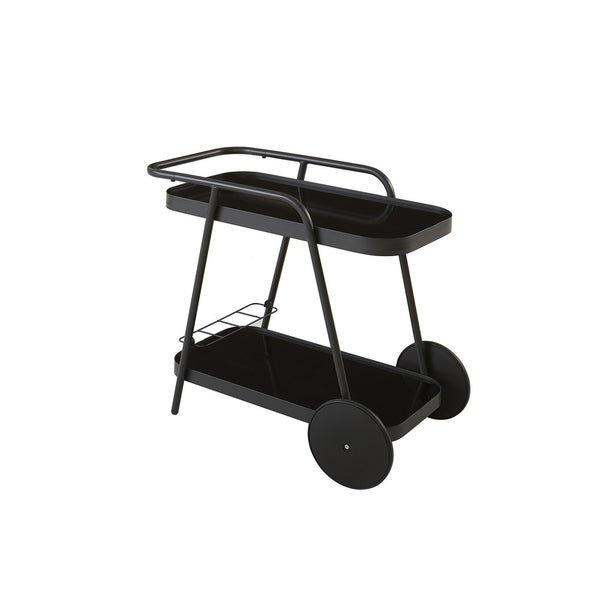 Novogratz Poolside Collection Barbie Outdoor Bar Cart