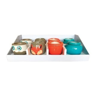Southern Patio  Assorted  Ceramic  Self-Watering  Flower Pot