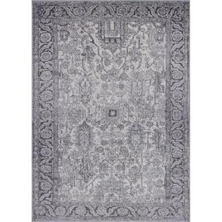 "Luxe Weavers Manhattan Collection Oriental 8x10 Grey Area Rug 1564 - 7'10"" x 10'"