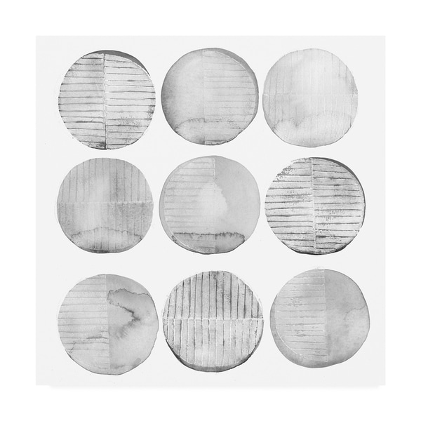 Shop Grace Popp Soft Circles Ii Canvas Art
