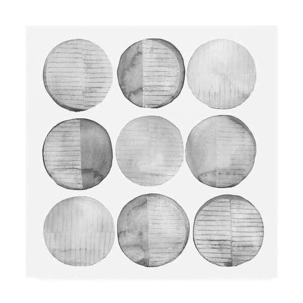 Shop Grace Popp Soft Circles I Canvas Art