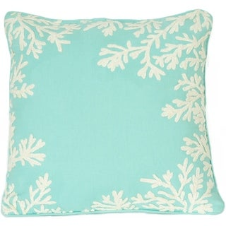 Ocean Coral Decorative Pillow