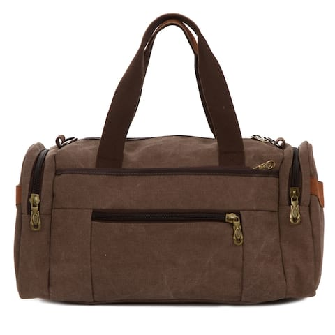 Weekender Bag, Smal Canvas Duffle Bag