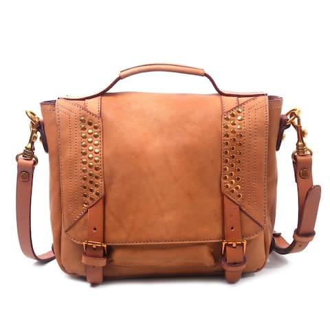 Old Trend Genuine Leather Hidden Valley Messenger