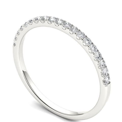 1/5ct TDW Diamond Women's Anniversay Band in 14k Gold by De Couer
