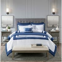 Madison Park Lexington 8 Piece Comforter and Coverlet Set Collection 2-Color Option