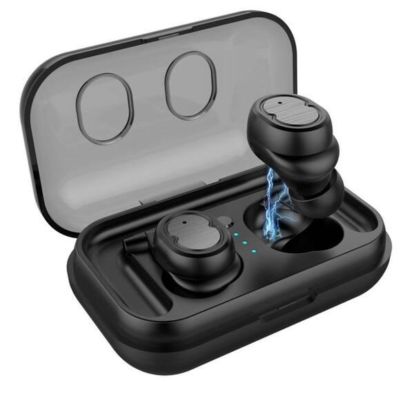 Shop Mini True Wireless Earbuds Tws Touch Control Bluetooth 5 0 Headphone Overstock 26173317