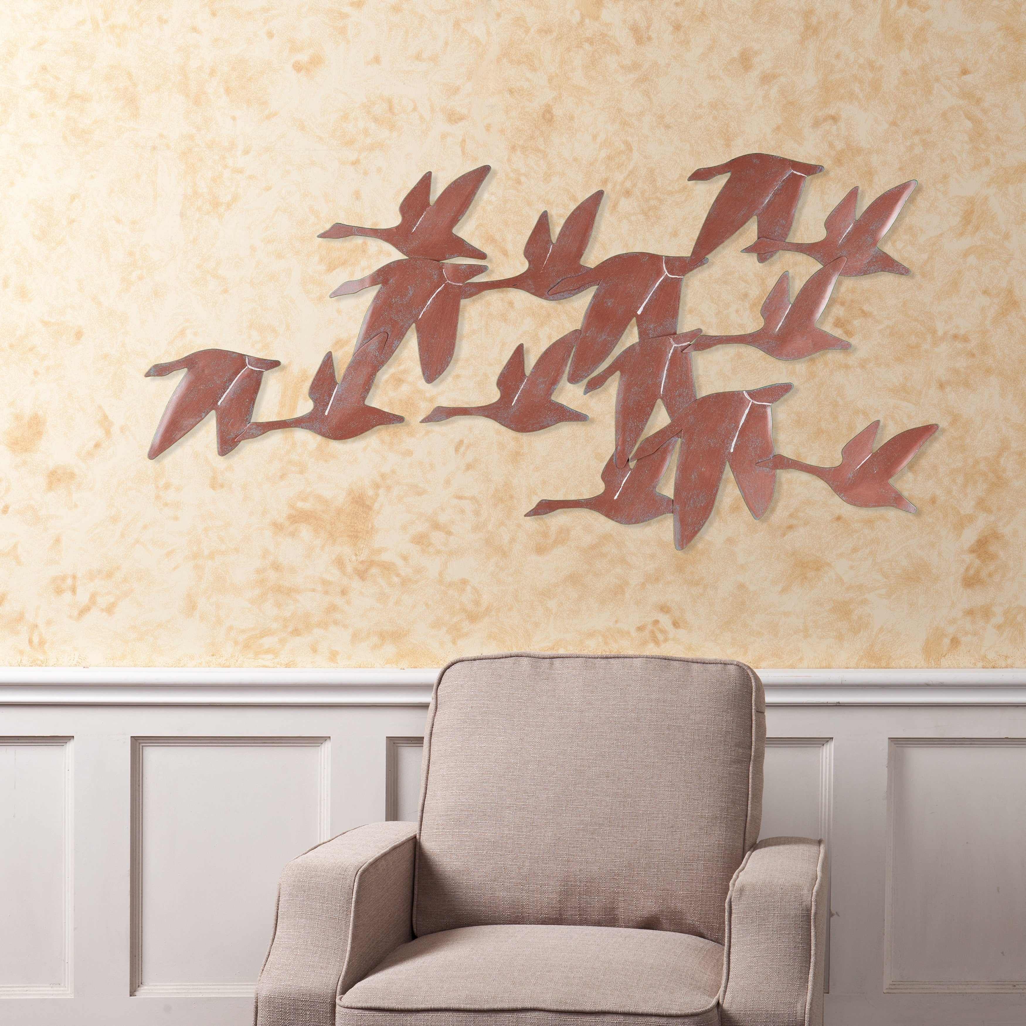 Harper Blvd Flock of Geese Wall Art