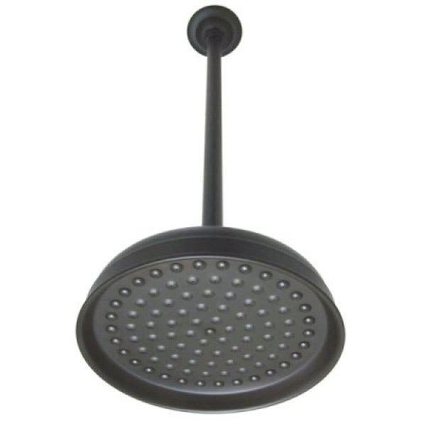 Oil Rubbed Bronze 10 Inch Rain Showerhead With 17 Inch Ceiling Support Overstock 2619642