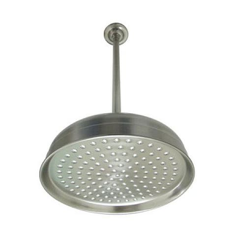 Brushed Nickel Showerhead and Arm