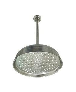 Satin Nickel Showerhead and Arm