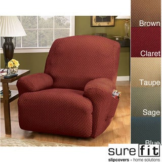 Sure Fit Stretch Modern Recliner Slipcover