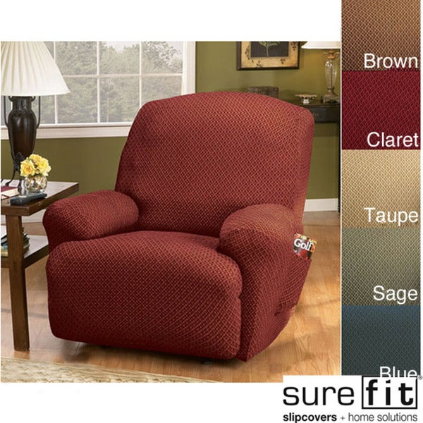 Sure Fit Stretch Modern Recliner Slipcover - Free Shipping Today