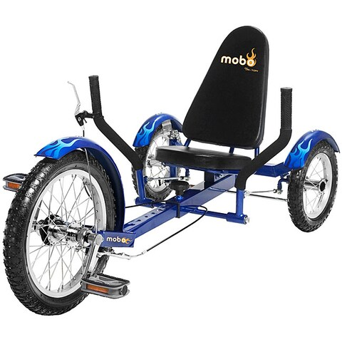 Mobo Triton The Ultimate Youth Three Wheeled Blue Cruiser