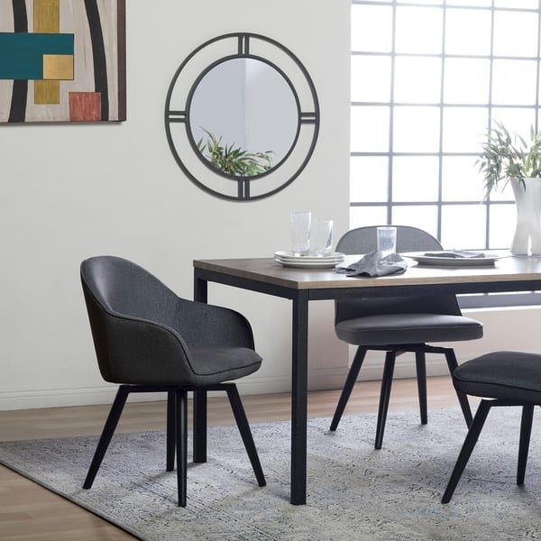Wondrous Shop Offex Home Dome Swivel Dining Office Chair With Arms In Pdpeps Interior Chair Design Pdpepsorg